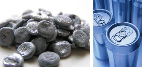 Речовина – алюміній, тіло – алюмінієві баночки
