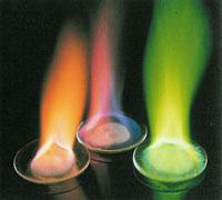 Колір полум'я