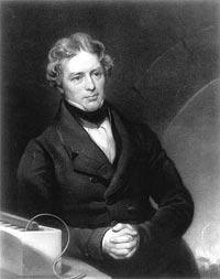 М. Фарадей – видатний англійський учений фізик і хімік.