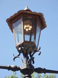 Газовий ліхтар 1879 р.