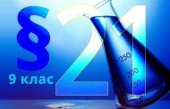 §21. Відношення об'ємів газів у хімічних реакціях