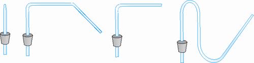 Різна форма скляних трубок