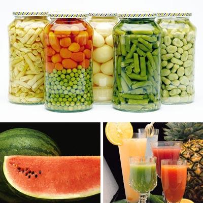 Розчини в харчовій промисловості
